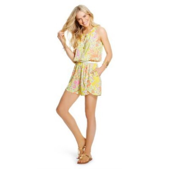 b43ee4ed73ea Lilly Pulitzer for Target Romper - Happy Place NWT